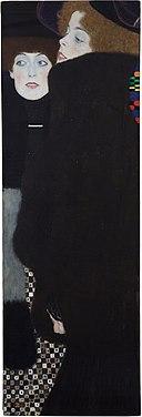Klimt - Friends I (Sisters), 1907