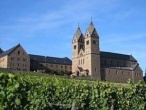 Eibingen Abbey - Image: Kloster Eibingen 01