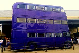 AEC Regent III RT - Knight Bus at Warner Bros. Studios, Leavesden in August 2013