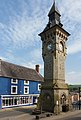 Knighton clock tower - Powys.jpg