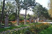 Kobeliaky Shevchenka Str. Centre Memorial Complex Monuments-Busts of 8 Heroes of USSR (YDS 8426).jpg