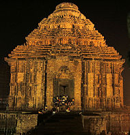 Main shrine of Konark Sun temple