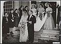 Koninklijk huis, prinsessen, huwelijken, stadhuizen, bruidsmeisjes, Beatrix, pri, Bestanddeelnr 017-0173.jpg