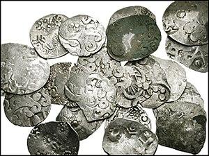 Kosala - Kosala Karshapana, 5th century BCE.