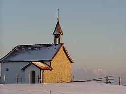 Kraftisried Raiggers Kapelle, Zugspitze
