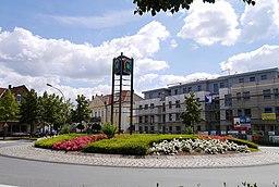 Bahnhofsplatz in Rheda-Wiedenbrück