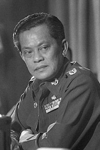 Chulachomklao Royal Military Academy - Image: Kriangsak Chomanan 1976 (cropped)