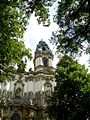 Krzeszów - kościół - wieża fasady.jpg