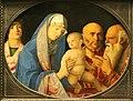 Kunsthistorisches Museum Wien, Bellini, Darbringung Christi im Tempel.JPG