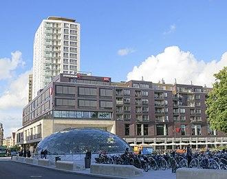 Sydsvenskan - Sydsvenskans headquarters in Malmö.