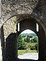 L'entrée du donjon de Châteaumur..JPG