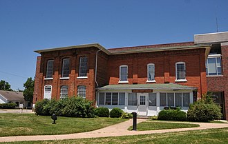 National Register of Historic Places listings in Laclede County, Missouri - Image: LACLEDE COUNTY JAIL, LEBANON, LACLEDE COUNTY