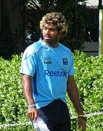 Lasith Malinga - Malinga in Sydney, Australia in October 2010