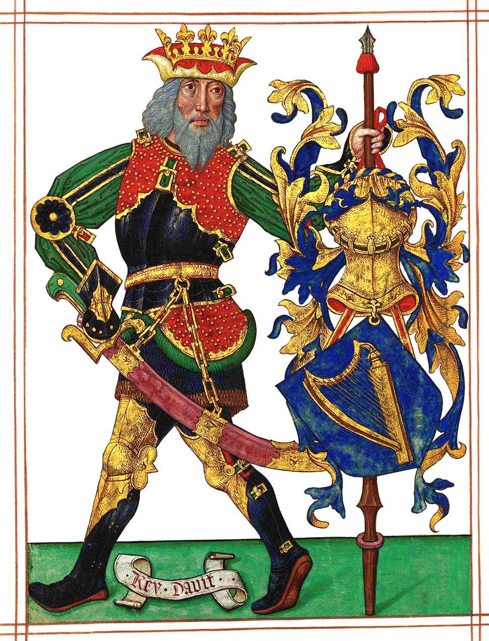LDAM (f. 001v) Rei David