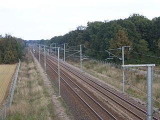 LGV Interconnexion Est French high-speed railway