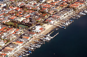Lido Isle, Newport Beach - Lido Island Yacht Club January 8, 2013