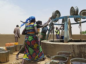 United Nations Capital Development Fund - Image: LOCAL UNCDF REHABILITATED WATER WELL NASSER ALQATAMI