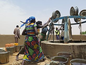 United Nations Capital Development Fund - As part of its local development practice area, UNCDF's LoCAL programme supported the rehabilitation of a well in the Dosso district of Niger.