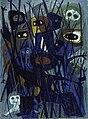 La Brousse, 1954-1958, huile sur panneau de fibre de bois, 142 x 106 cm., Québec, MNBAQ.JPG