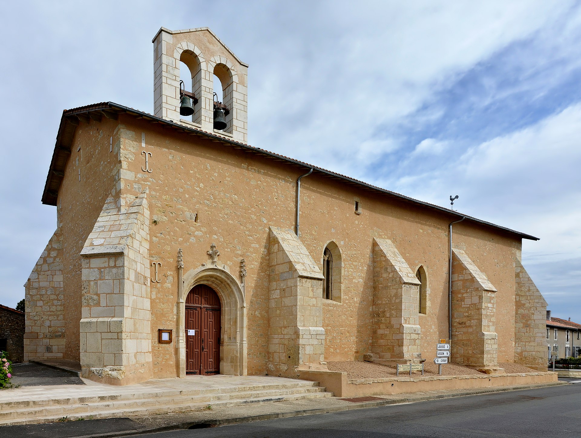 La chapelle b ton vienne wikipedia for Code postal vienne 86