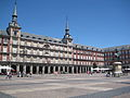 La Plaza Mayor en Madrid.JPG