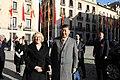 La alcaldesa entrega la Llave de Madrid al presidente chino en su visita al Ayuntamiento 03.jpg