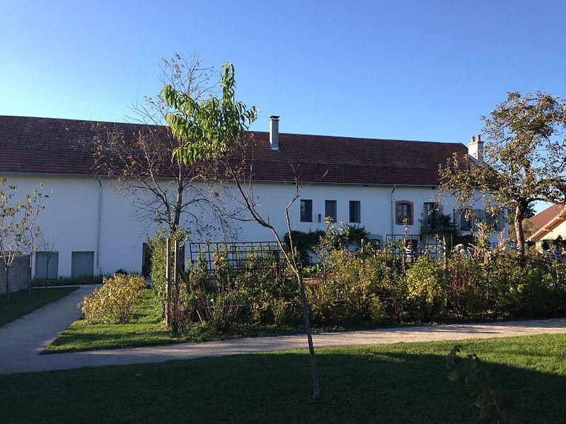 La ferme de la famille Courbet à Flagey (Doubs)