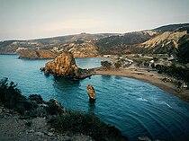 La plage Moscarda, in Marsa Ben M'hidi.jpg