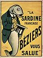 La sardine française Béziers vous salue.jpg