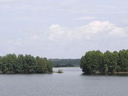 næststørste sø i europa