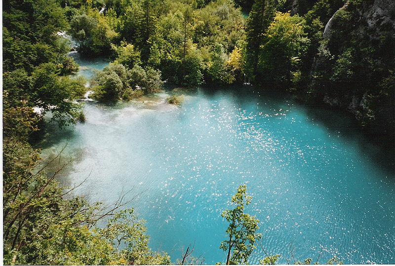 Fitxer:Lac bleu Plitvice.jpg