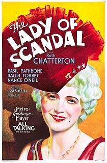 <i>The Lady of Scandal</i> 1930 film