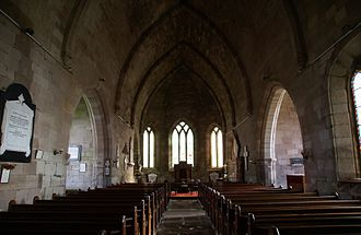 Ladykirk, Scottish Borders - East end of the church