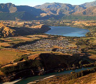 Lake Hayes Estate - Lake Hayes Estate including lake