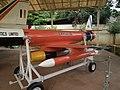 Lakshya PTA (pilotless target aircraft) at HAL 7687.JPG