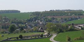A general view of Lamécourt