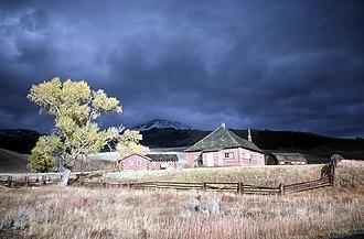 Lamar Buffalo Ranch - Image: Lamar Buffalo Ranch in landscape
