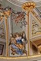 Lamporecchio, villa rospigliosi, interno, salone di apollo, con affreschi attr. a ludovico gemignani, 1680-90 ca., segni zodiacali, leone 01.jpg