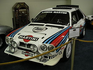 World Rally Championship - Group B Lancia Delta S4.