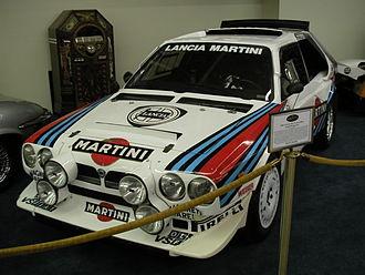 World Rally Championship - Group B Lancia Delta S4.