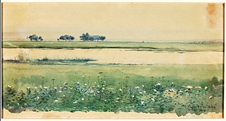 (Landscape with Marshes)