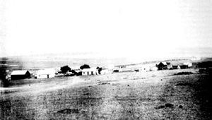 History of South Africa (1815–1910) - The farm outside of Johannesburg on the Witwatersrand — site of the first discovery of gold in 1886.