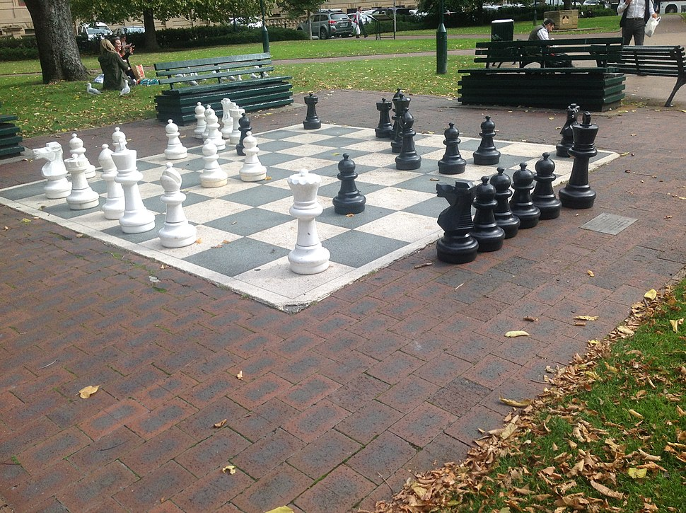 Large chess set