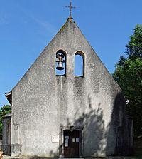 Lasserre (Lot-et-Garonne) - Église Saint-Laurent -1.JPG