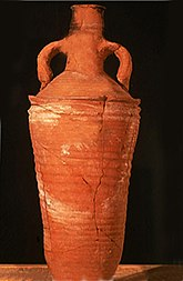 Late Roman Amphora 1, sa coupe et son imitation égyptienne