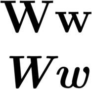 w - Wiktionary