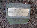 Laurelhurst Park, Portland - Sequoiadendron giganteum plaque.JPG