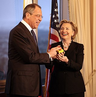 2009 attempt to improve relations between USA and Russia