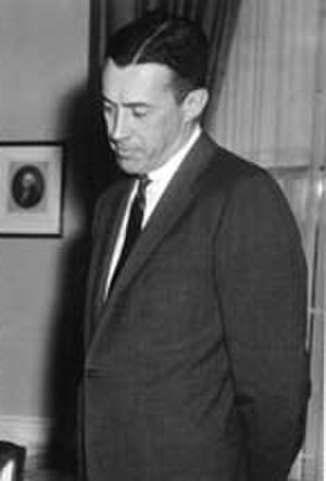 United States Deputy Attorney General - Image: Lawrence Walsh at the Oval Office in 1960