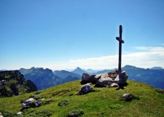 Sommet du Pinet mountain in France